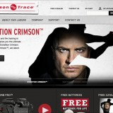 PROJECT: Crimson Trace / ROLE: Frontend Web Development, Graphic Design, Responsive Designer