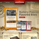 PROJECT: H.K. Anderson Pretzels / ROLE: Frontend Web Development