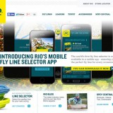 PROJECT: Rio / ROLE: Frontend Web Development