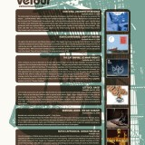 MAGAZINE AD: Velour Music Group - Featured in PASTE Magazine